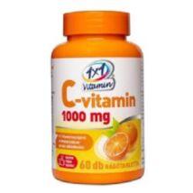 1X1 Vitaday rágótabletta C-vitamin 1000mg 60db