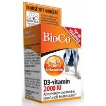 BioCo D3-vitamin 2000IU 100db