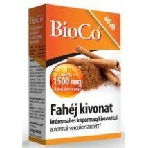BioCo Fahéj kivonat 60db