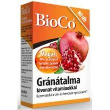 BioCo Gránátalma kivonat vitaminokkal 80db