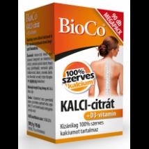 Bioco kalci-citrát + D3-vitamin megapack 90db