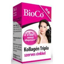 Bioco kollagén tripla szerves cinkkel 60db
