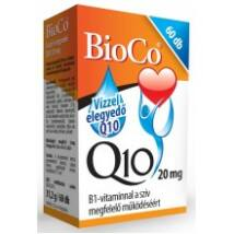 BioCo Q10 20 mg B1-vitaminnal 60db