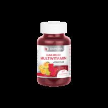 Damona gumi-brumi multivitamin+omega3 gumitabletta 60DB