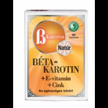 DR.CHEN BÉTA-KAROTIN + E-VITAMIN+CINK LÁGYZSELATIN KAPSZULA 60DB