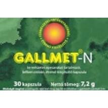 Gallmet-N kapszula 30 db