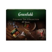 Greenfield piramis tea válogatás  díszdobozban 12x5 filter