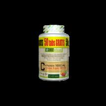 Herbioticum C-vitamin 1000mg+rosehips 50mg tabletta 50+50db