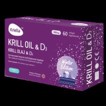 Kriella krill olaj D3 vitaminnal 60 db