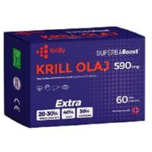 Krilly krill olaj kapszula 590mg 60 db