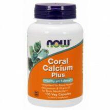 Now Coral Calcium Plus kapszula 100 db