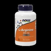 Now L-Arginine 500mg kapszula 100 db