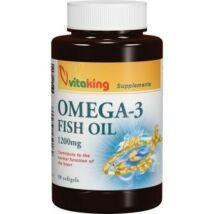 Vitaking Omega-3 Halolaj kapszula 90db