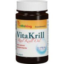 Vitaking  Vitakrill rákolaj kapszula 30db