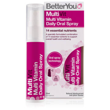 Betteryou MultiVit multivitaminos szájspray 25ml