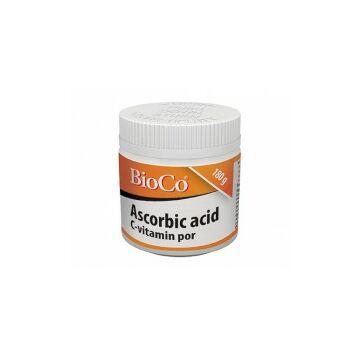 BioCo Ascorbic acid C-vitamin por 180g