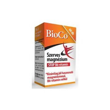 BioCo Szerves Magnézium STOP B6 60db