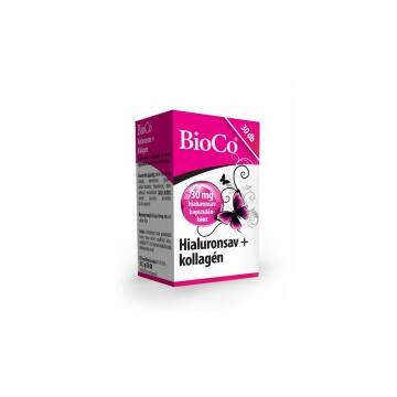 BioCo Hialuronsav+kollagén kapszula 30db