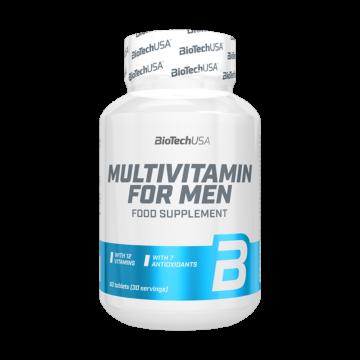 Biotech multivitamin for men tabletta 60 db