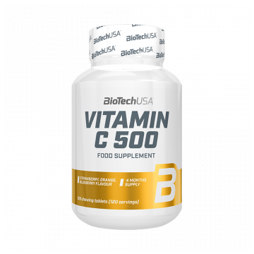 Biotech vitamin c 500 tabletta 120 db