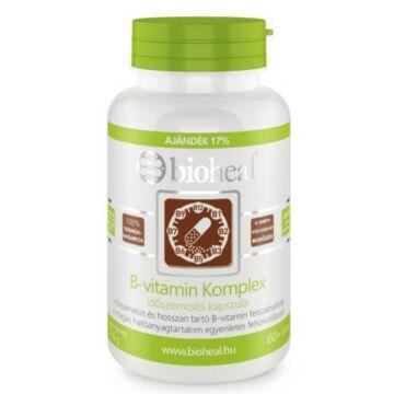 Bioheal B-vitamin Komplex Időszemcsés 70 db
