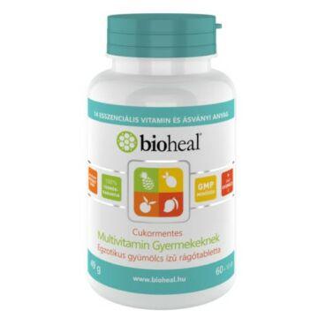 Bioheal Cukormentes Multivitamin gyerekeknek 70 db