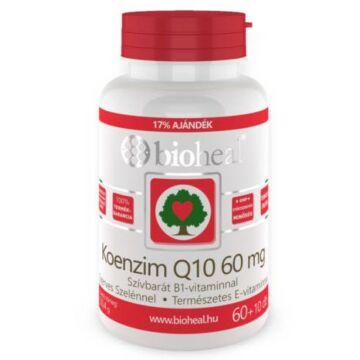 Bioheal Koenzim Q10 60 mg Szelénnel kapszula 70 db