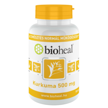 Bioheal Kurkuma 500 mg 70 db