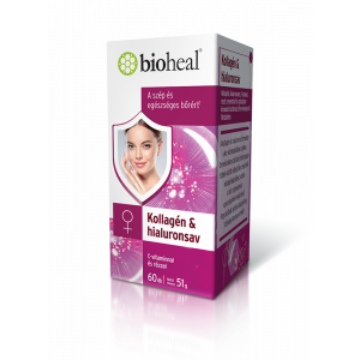 Bioheal Kollagén&Hialuronsav 60 db