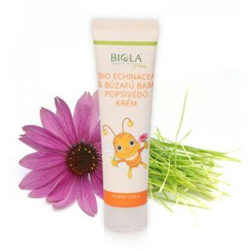 Biola bio echinacea-búzafű baba popsivédő krém 100ml