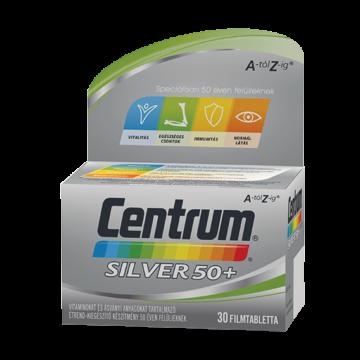 Centrum silver filmtabletta 50+ 30 db