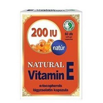 DR. CHEN E-VITAMIN 200MG KAPSZULA 60DB