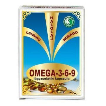 DR. CHEN OMEGA-3-6-9 LÁGYZSELATIN KAPSZULA 30DB