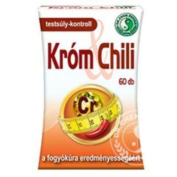 Dr.Chen Króm és Chili kapszula 60 db