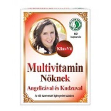 Dr. Chen Multivitamin Nőknek kapszula 60 db