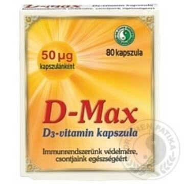 DR.CHEN D-MAX KAPSZULA 80DB