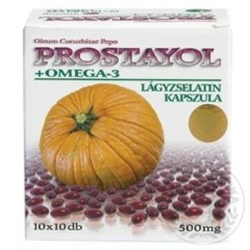 DR.CHEN PROSTAYOL+OMEGA 3 KAPSZULA 100DB