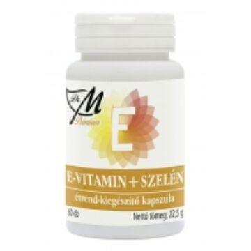 Dr.M prémium e-vitamin+szelén kapszula 60 db