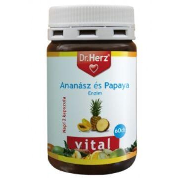 Dr. Herz ananász-papaya kapszula 60db