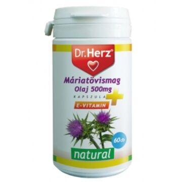 Dr. Herz máriatövismag olaj 500mg kapszula 60db