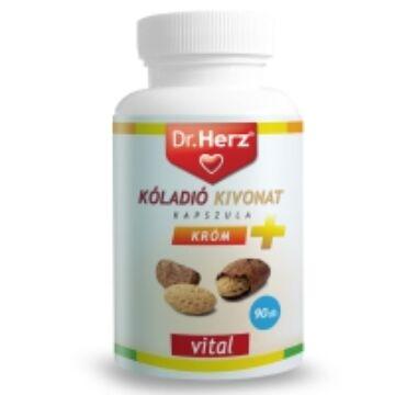 Dr. Herz kóladió+króm kapszula 90db
