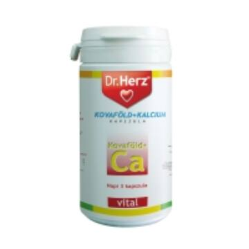 Dr. Herz kovaföld + kalcium + c-vitamin kapszula 60db
