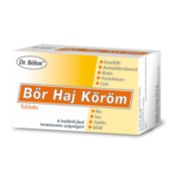 Dr. Böhm bőr haj köröm tabletta 60db
