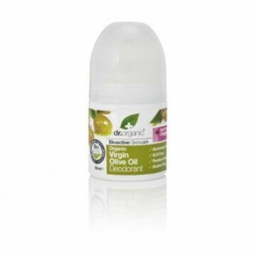 Dr. Organic golyós dezodor bio szűz olivaolajjal 50ml