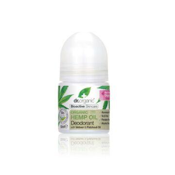 Dr. Organic golyós dezodor bioaktív kendermagolajjal 50ml