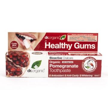 Dr. Organic fogkrém gránátalma 100 ml
