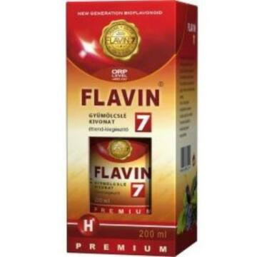 FLAVIN 7 PRÉMIUM GYÜMÖLCSLÉ 200 ML