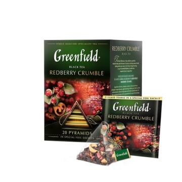 GREENFIELD Redberry Crumble tea 20x1,8 g