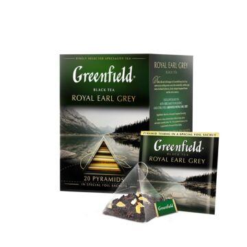 GREENFIELD Royal Earl Grey  tea 20x2 g