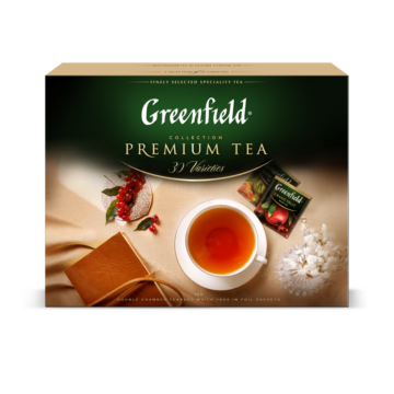 Greenfield tea válogatás díszdobozban 30x4 filter